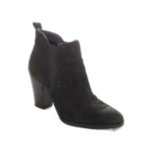 MICHAEL Michael Kors Womens Brandy Leather Pointed Toe Ankle Fashion Boots