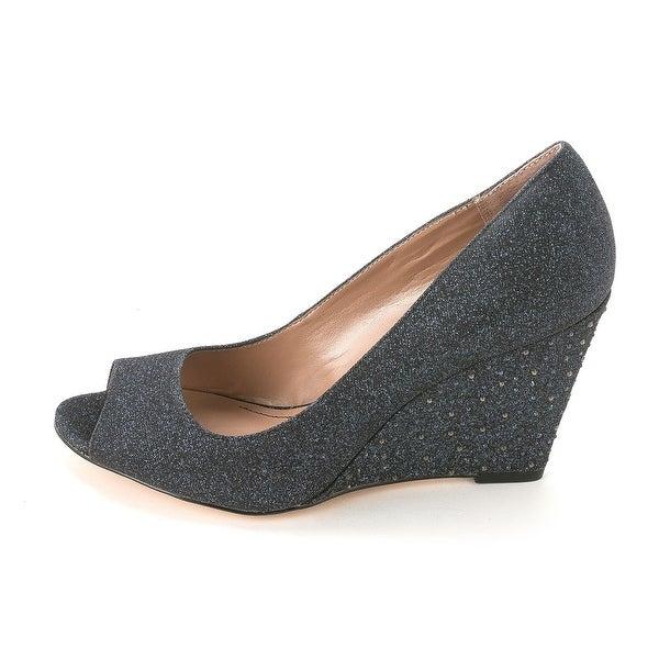 Style & Co. Womens CECELIE Peep Toe Wedge Pumps