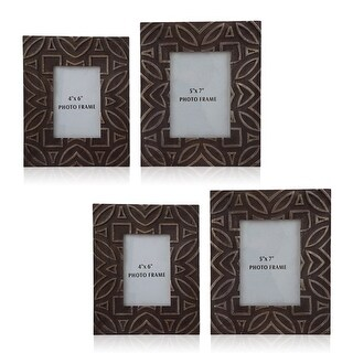 Marquise Antique Black Photo Frame A2000183 - Set of 2 Marquise Antique Black Photo Frame - Set of 2