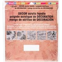 "Stampendous Decor Stamp Block Handle 10""X8.75""-"