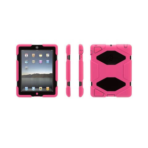 Griffin Technology Survivor Case for iPad 2/iPad 3/iPad 4 GB35379-2 Pink/Black