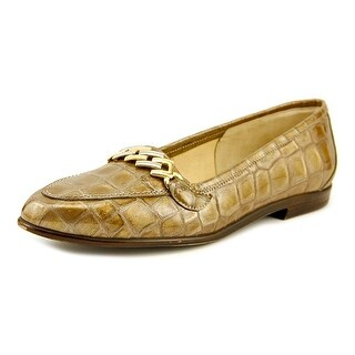 Amalfi By Rangoni Oste Women N/S Round Toe Leather Bronze Loafer