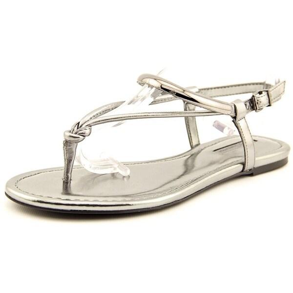BCBGeneration Frida Open Toe Synthetic Thong Sandal