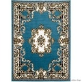 "Allstar Blue Woven High Quality Rug. Traditional. Persian. Flower. Western. Design Area Rug (5' 2"" x 7' 1"") - Thumbnail 6"