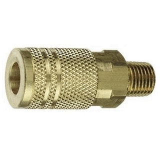 "Forney 75483 Air Fitting Coupler, 3/8"" x 3/8"" Male NPT"