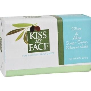 Kiss My Face - Olive And Aloe  Bar Oap ( 4 - 8 OZ)