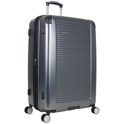 """Ben Sherman Norwich 28"""" PET Expandable 8-Wheel Spinner Lightweight Checked Luggage"""