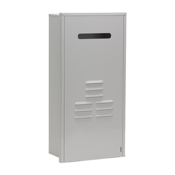 shop rinnai rgb-ctwh-2 condensing tankless water heater recess box