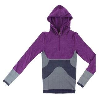 Adidas Womens Stell McCartney Winter Sport Seamless Top Purple - purple/fusia