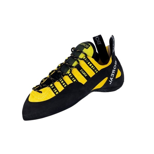 Boreal Climbing Shoes Mens Lightweight Lynx Black Yellow
