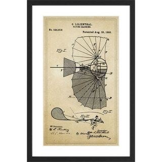 Marmont Hill Patent - Black Framed Art Print Smithsonian Black Framed Giclee Art Print on High Resolution Archive Paper