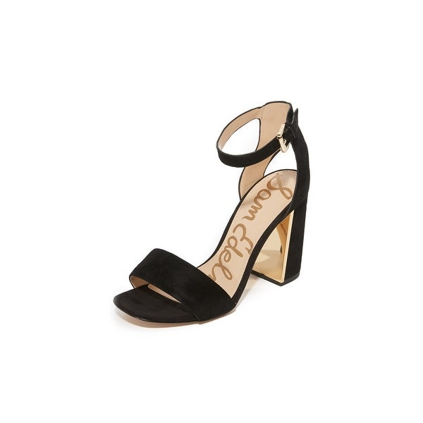 Sam Edelman Womens Synthia Suede Open Toe Casual Ankle Strap Sandals - 9.5