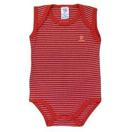 Baby Bodysuit Infant Unisex Sleeveless Striped Pulla Bulla Sizes 0-18 Months