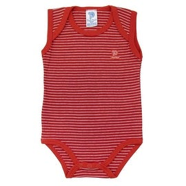 Baby Bodysuit Infant Unisex Sleeveless Striped Pulla Bulla Sizes 0-18 Months