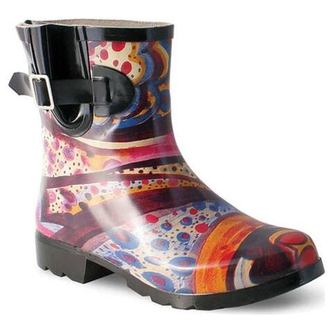 Nomad Women's Droplet Rain Boot Turquoise Monet