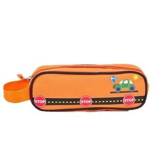 Aquarella Kids Boys Orange Transportation Back To School Pencil Case - One size