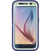 OtterBox Defender Series Case for Samsung Galaxy S6 - Green/Liberty Purple