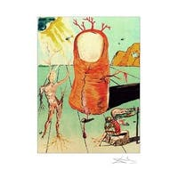 ''The Thumb'' by Salvador Dali Museum Art Print (24 x 19 in.)