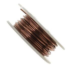 Vintaj Artisan Copper Round Wire 16 Gauge (15 Foot Spool)