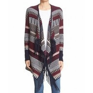 Autumn Cashmere NEW Red Womens Size Small S Cardigan Cashmere Sweater
