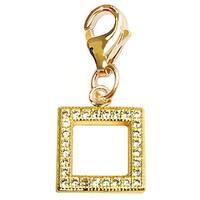 Julieta Jewelry Square Clip-On Charm