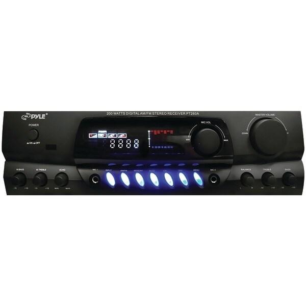 PYLE HOME PT260A 200-Watt Digital Stereo Receiver