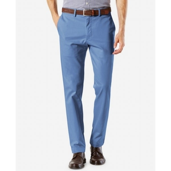 f42d922959 Shop Dockers Copen Blue Mens Size 30x32 Clean Khakis Stretch Pants - Free  Shipping On Orders Over $45 - Overstock - 28260722