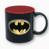 DC Comics Batman Logo 16oz Ceramic Coffee Mug - Multi