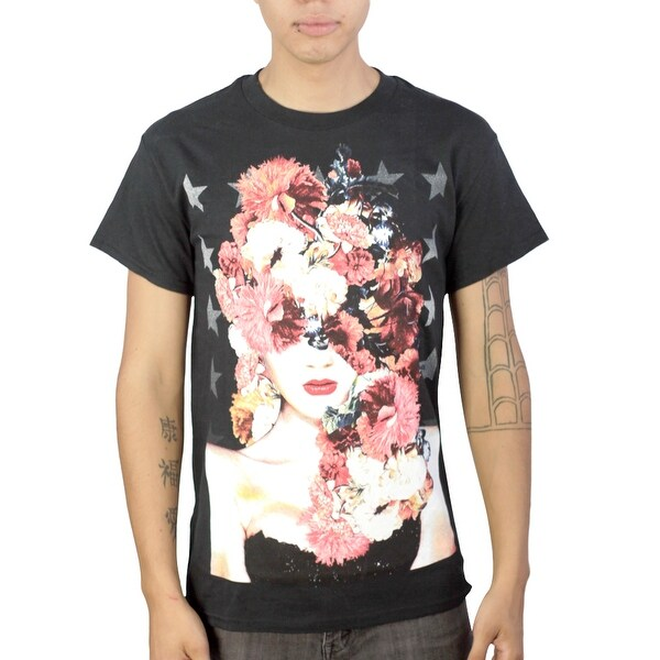 4b6779c5a Shop Tony Hawk Flowered Woman Men's Black T-shirt - Free Shipping On Orders  Over $45 - Overstock - 17066911
