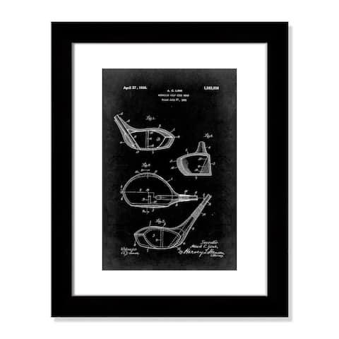 Vintage Golf Club Patent I - 20.5'' x 16.5''