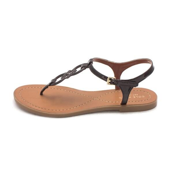 Cole Haan Womens Moniquesam Open Toe Casual Ankle Strap Sandals - 6