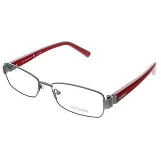 Valentino V2105R 060 Dark Gunmetal Rectangular Valentino Eyewear