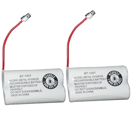 Replacement BT1007 (TL26602) Battery For Panasonic KX-TG2000 Phone Model (2 Pack)