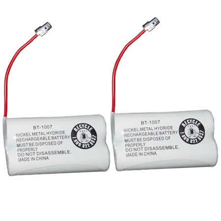 Replacement BT1007 (TL26602) Battery For Panasonic KX-TGA200 Phone Model (2 Pack)