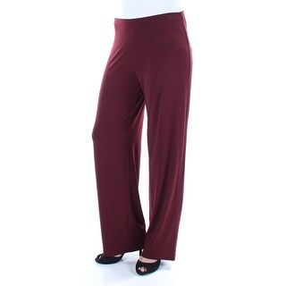 ALFANI $60 Womens 1467 Maroon Wear To Work Pants XL B+B