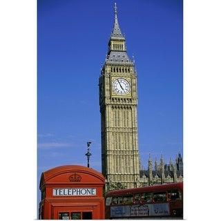 """Big Ben, London, England"" Poster Print"