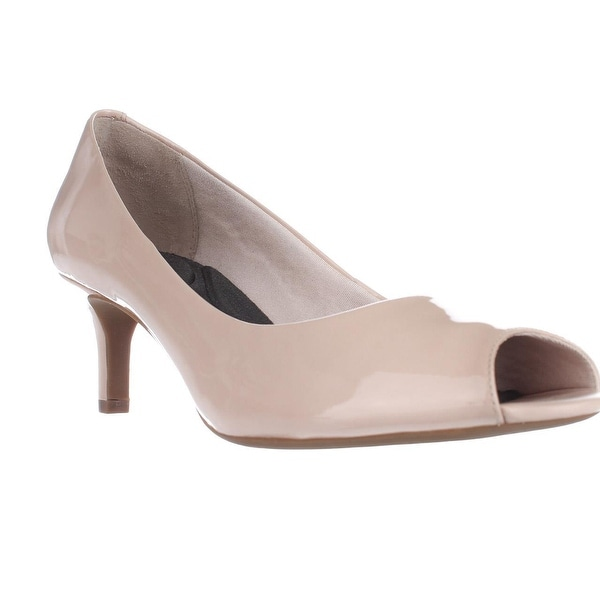 Rockport Finula Peep Toe Comfort Heels, Rose Cloud - 9.5 us / 41 eu