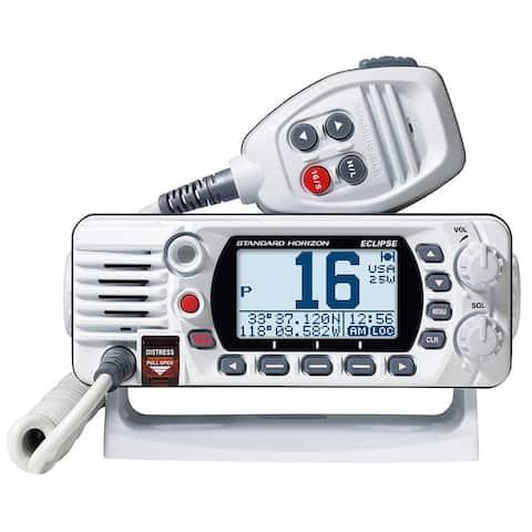 Standard Horizon GX1400G Fixed Mount VHF with GPS - White GX1400GW Fixed Mount VHF