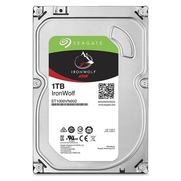 "Seagate Ironwolf St1000vn002 1 Tb 3.5"" 5900 Rpm Internal Hard Drive"