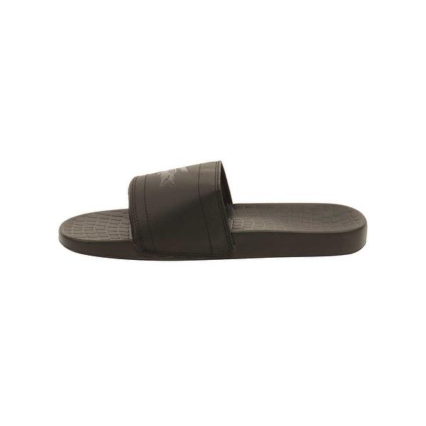 ccb9d7e889c3e Shop Lacoste Men s Fraisier 118 Slide Sandal - Free Shipping On ...