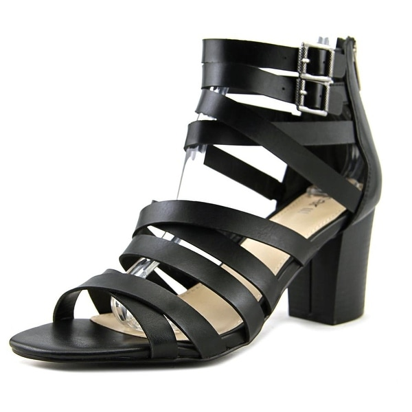 Bar III Kosta Women Open Toe Synthetic Black Sandals