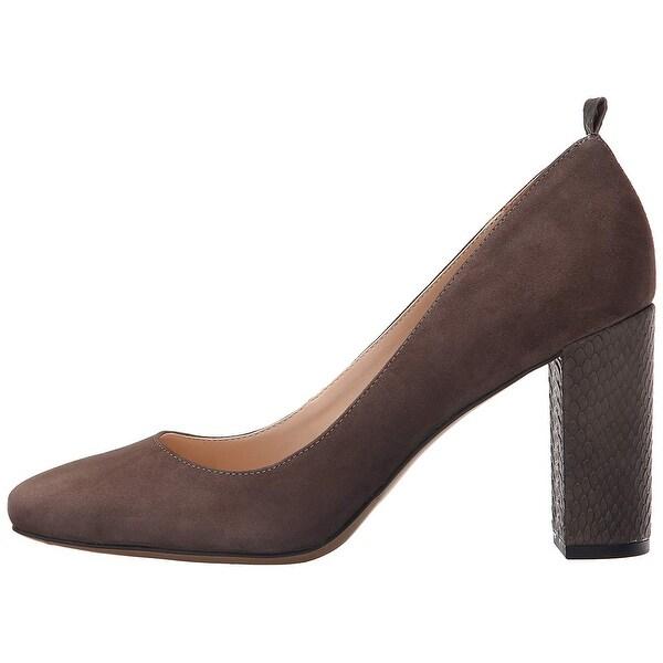Franco Sarto Womens Ingall Leather Closed Toe Classic Pumps