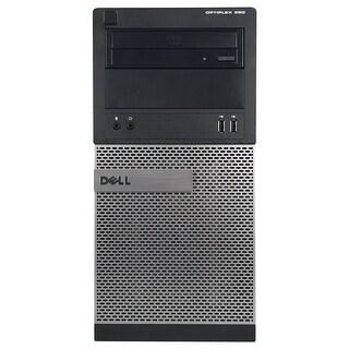 Dell OptiPlex 390 Computer Tower Intel Core I5 2400 3.1G 4GB DDR3 1TB Windows 10 Pro 1 Year Warranty (Refurbished) - Black