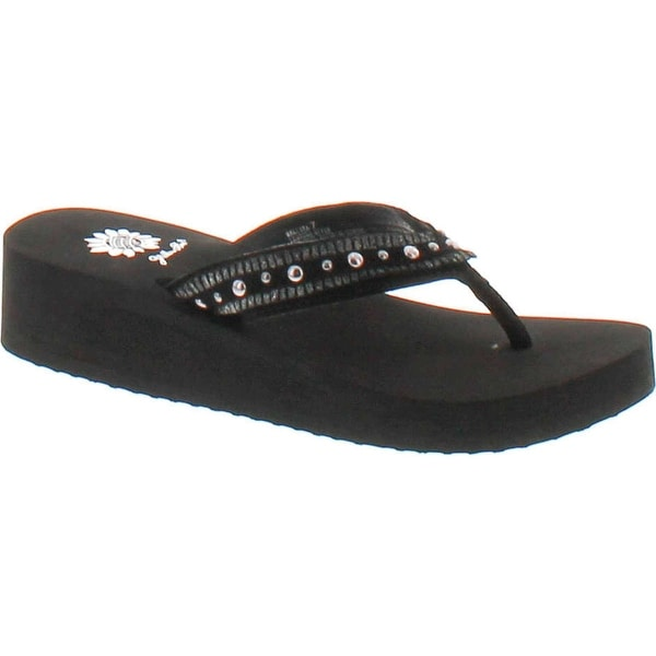 Yellow Box Mallika Women's Sandal - Black