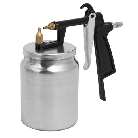 PQ1 2mm Nozzle Black Handle Spray Gun Sprayer Paint Tool