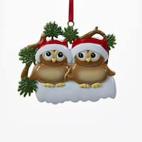 """Club Pack of 12 Vibrantly Colored Owl Family Christmas Ornaments 2.75"""" - brown"""