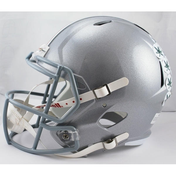 a16eefa10 Shop Ohio State Buckeyes Riddell Full Size Deluxe Replica Speed Football  Helmet - Free Shipping Today - Overstock.com - 13484747