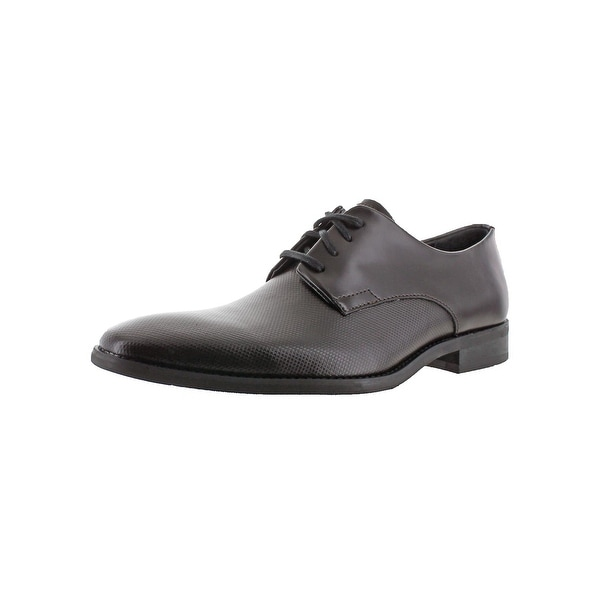 Calvin Klein Mens Ramses Oxfords Leather