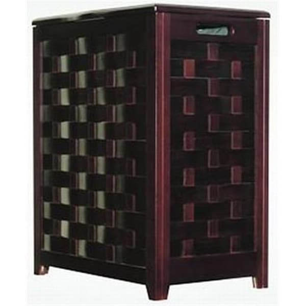 Oceanstar Rhv0103mh Mahogany Finished Laundry Hamper With Interior Bag Free Shipping Today 24951468