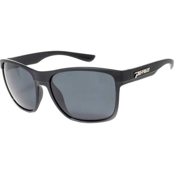 86ea1a9066a48 Shop Peppers Starlock Sunglasses Shiny Black Matte Black Smoke Polarized -  US One Size (Size None) - Free Shipping Today - Overstock - 27635776